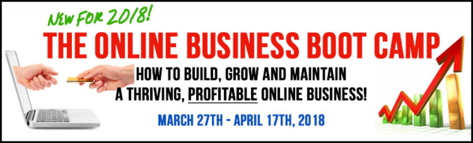 2018 Online Business Boot Camp